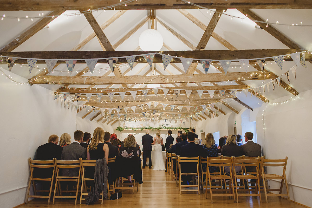 The Green Cornwall wedding barn