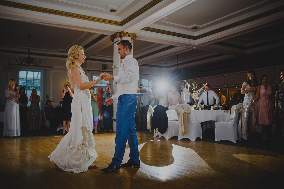 First dance at a Tregenna Castle wedding