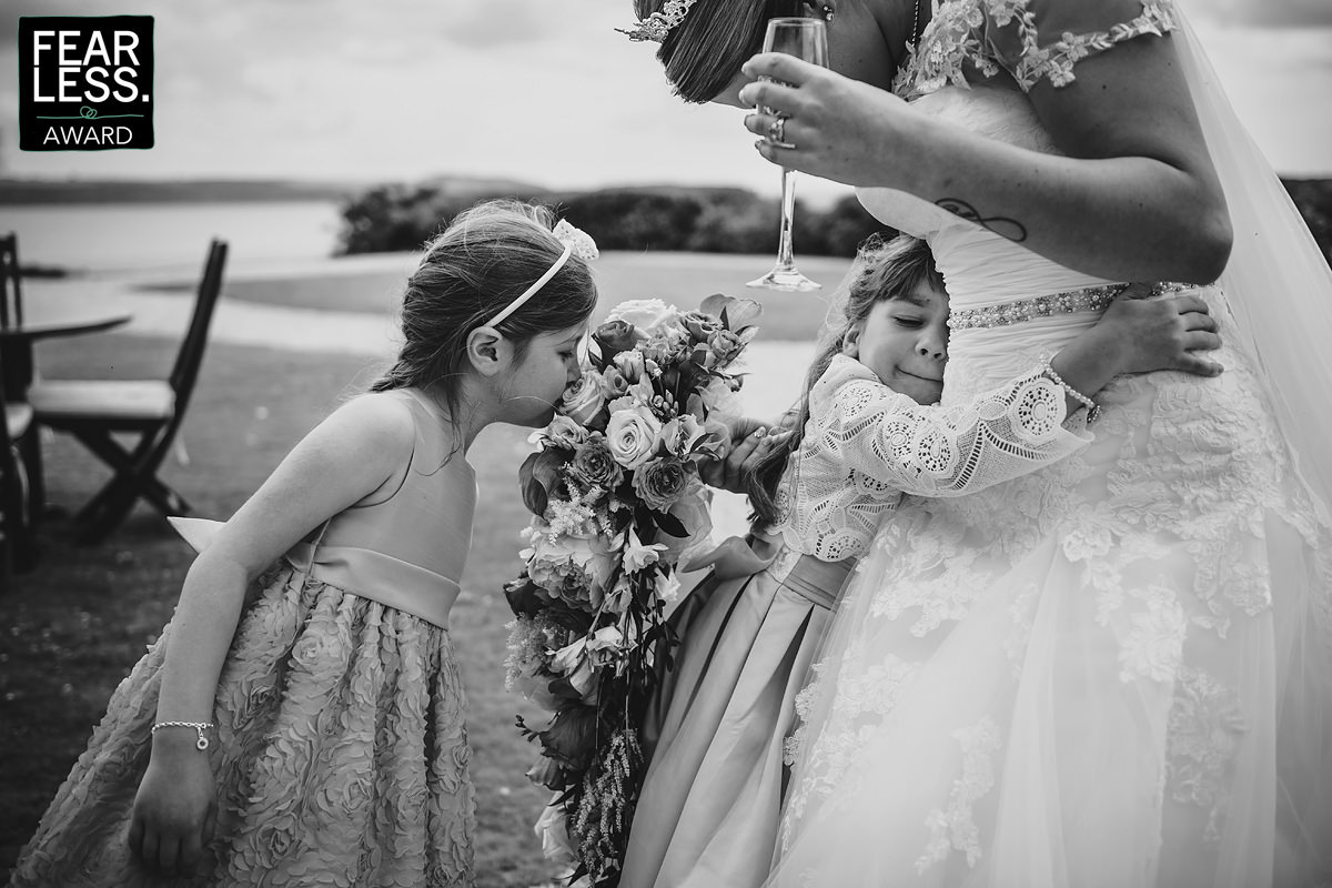 Fearless award winning wedding photographer Cornwall