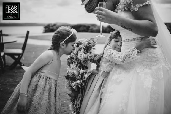 Fearless Awards Winner. Award Winning Wedding Photographer Cornwall.