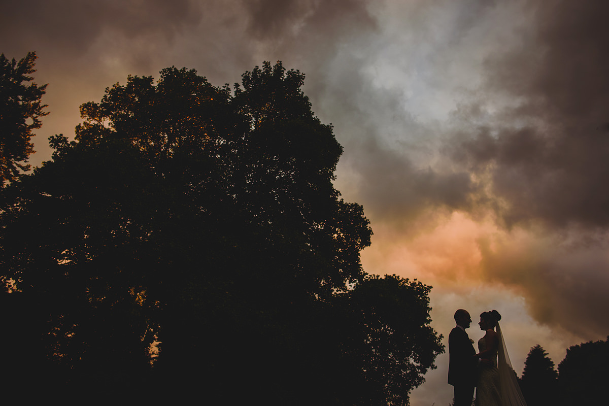 Sunset at an Alverton Hotel wedding
