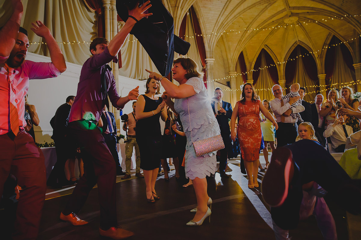 Dancing at an Alverton Hotel wedding